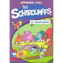 Apprends avec les Schtroumpfs - Graphisme