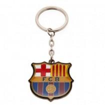 Barcelona Crest Key Ring
