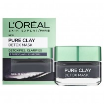 L'Oreal Paris Pure Clay Detox Mask Black 50ml