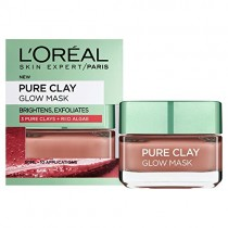 L'Oreal Paris Pure Clay Glow Mask Red 50ml
