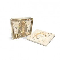 Grace Cole Bergamot, Ginger & Lemongrass- Graceful Gift Set, Hand Wash 50ml And Hand Lotion 50ml With Nail File And 2 Orange Cuticle Sticks