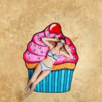 Big Mouth Cupcake Beach Blanket s17