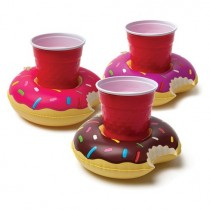 Big Mouth Inflatable Pool Party Beverage Boats-Pink-Chocolate-Purple Donut s17