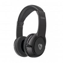 ETTE S99 On-Ear Wireless Bluetooth Stereo Headset - Black - S99