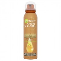 Garnier Ambre Solaire No Streaks Bronzer Self Tanning Dry Body Spray 150ml