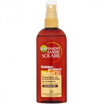 Garnier Ambre Solaire Golden Protect Sun Oil SPF20 150ml