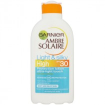 Garnier Ambre Solaire Light & Silky Milk SPF30 200ml