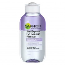 Garnier Skin Naturals Express 2-In-1 Eye Makeup remover 125ml
