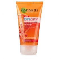 Garnier Skin Naturals Pure Active Fruit Energy Gel Scrub 150ml