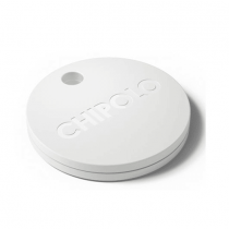 Chipolo Bluetooth Item Tracker Pearl White