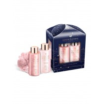 Grace Cole Cedarwood & Lime Blossom- Dazzling Gift Set, Body Wash 100ml And Body Lotion 100ml With Body Ball