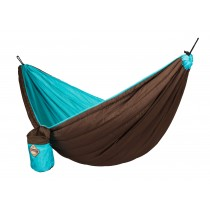 La Siesta, Double Colibri Padded Turquoise Hammock (With Rope)