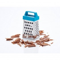 KitchenCraft, Colourworks Display of 48, 7cm Stainless Steel Mini Graters, Blue