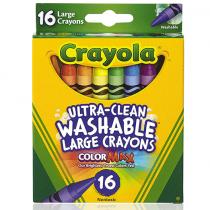 Crayola, Washable Crayons, 16 Pieces