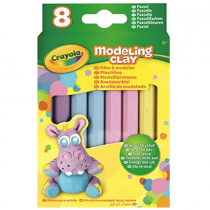 Crayola, Pate A Modeler, 8 Sticks in Purple, Blue, Pink & Yellow