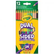 Crayola, Dual Sided Pencils, 12 Pieces