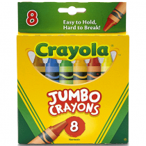 Crayola, Crayon, 8 Assorted