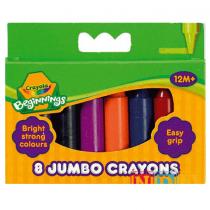 Crayola, Colorful Mood Crayons, 8 Pieces