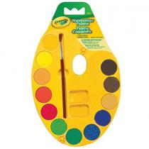 Crayola, Count Watercolour Paint Palette, 12 Colors