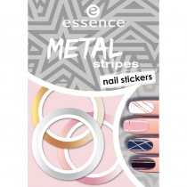 Essence Metal Stripes Nail Stickers 04