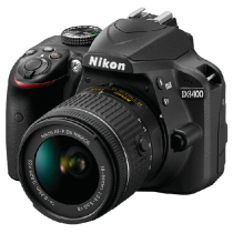 Nikon D3400 DSLR Camera with AF-P DX NIKKOR 18-55mm f/3.5-5.6G VR and AF-P DX NIKKOR 55-200mm f/4.5-6.3G ED With FREE Tripod, SD Card 16 GB & Bag