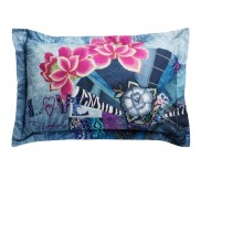 Desigual, Pillow Rectangular Denim Folk, 50 x 80 cm