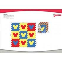 RollMatz, Mickey Puzzle Floor Mat, 9 Pieces, 92 x 92 cm