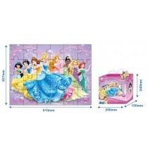 RollMatz, Princess Printed Jigsaw Puzzle, 24 pieces, 92 x 92 cm