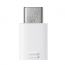 Samsung, Micro USB Connector (USB Type-C to Micro USB), White - EE-GN930BWEGWW