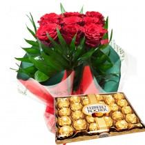 Fleurs de la Sagesse, You Touch Me with Ferrero rocher