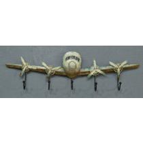 Itemz, 3D MetalWall Hanger Plane, L18cmxW59.50cm