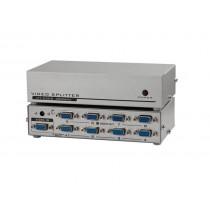 Top VGA Splitter 8 Port Multiplier for Screen Duplification 1 IN 8 OUT