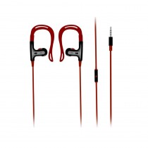 Promate 3.5mm Stereo Sports Headset Glitzy, Red