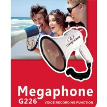 Conqueror Megaphone Speaker 15W with Adjustable Volume & Voice Recording - G226