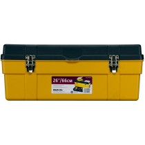 Stack-On, GMY26RPS 66 cm Deluxe Professional Tool Box, Black & Yellow