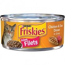 Friskies, Prime filet Chicken & Tuna 156g, Pack of 3
