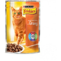 Friskies, Cat Chicken Pouch 100g, Pack of 6
