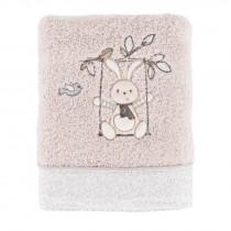 Carré Blanc, Timeo Towel, Linen, 50 x 90 cm