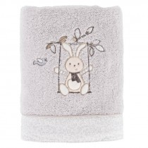 Carré Blanc, Timeo Towel, Pearl ,50 x 90 cm