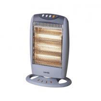 Daewoo warmlite 3 Bar Halogen Heater with Oscillation Function, 1200 W - HM16