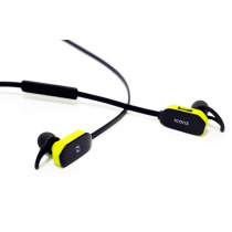 Iconz Sporty Bluetooth In-Ear Headset Yellow with volume control