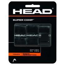 Head, Super Comb Overgrip, Black