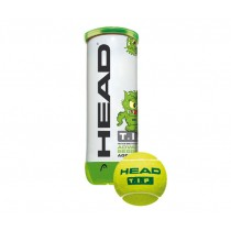 Head, Tennis Ball 6DZ, Green, 578133