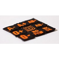 5.11, Blood Type Patch Kit, Scope Orange