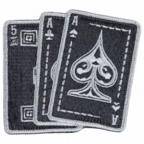 5.11, ACE in Hand Patch, Black