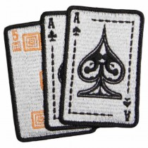 5.11, ACE in Hand Patch, Grey
