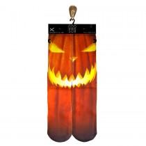 Odd Jack O' Lantern Socks