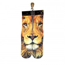 Odd Sox Lion Gold Socks