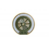 Wild Land, Disc fan light, Olive Green & White