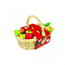 Janod, Fruits and Vegetables Basket (24-Piece)